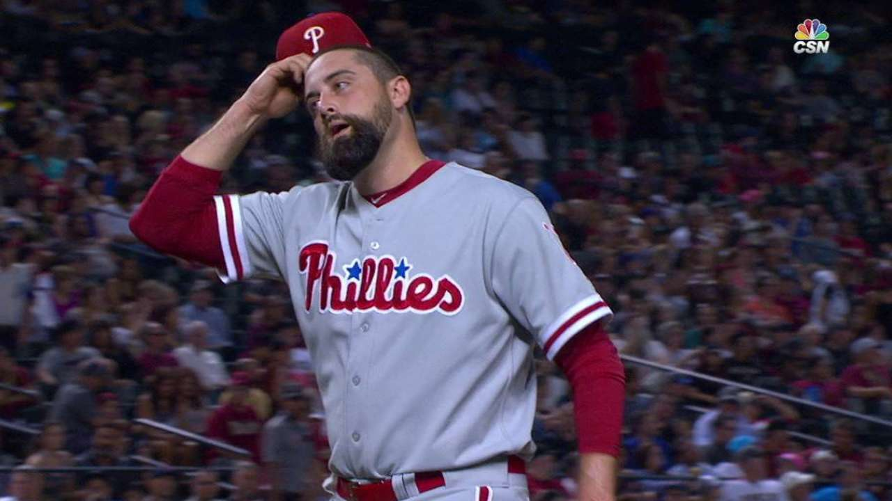 Neshek strikes out side in 7th