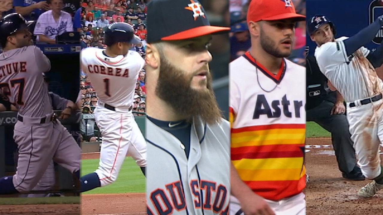 Five Astros in All-Star Game