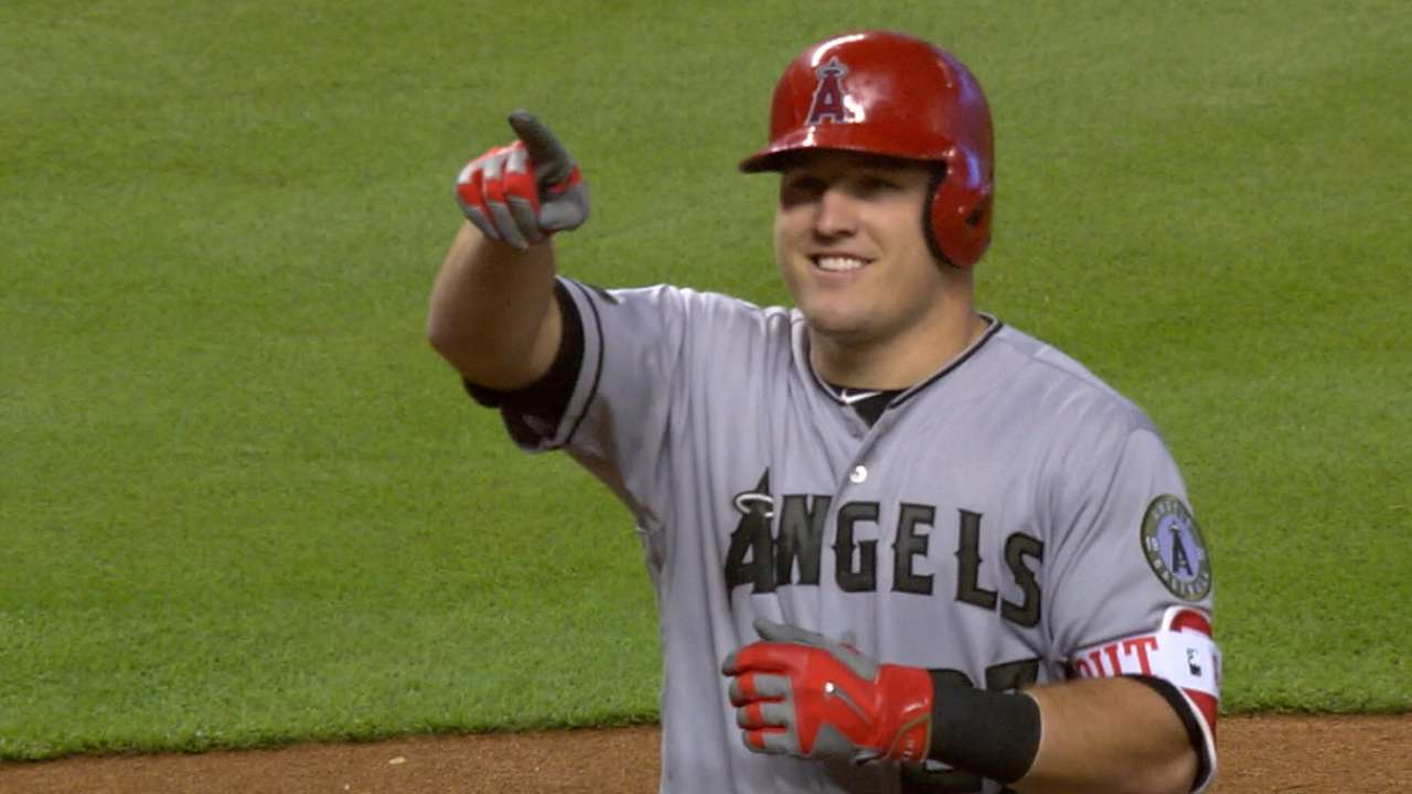 Trout tabbed as an AL All-Star