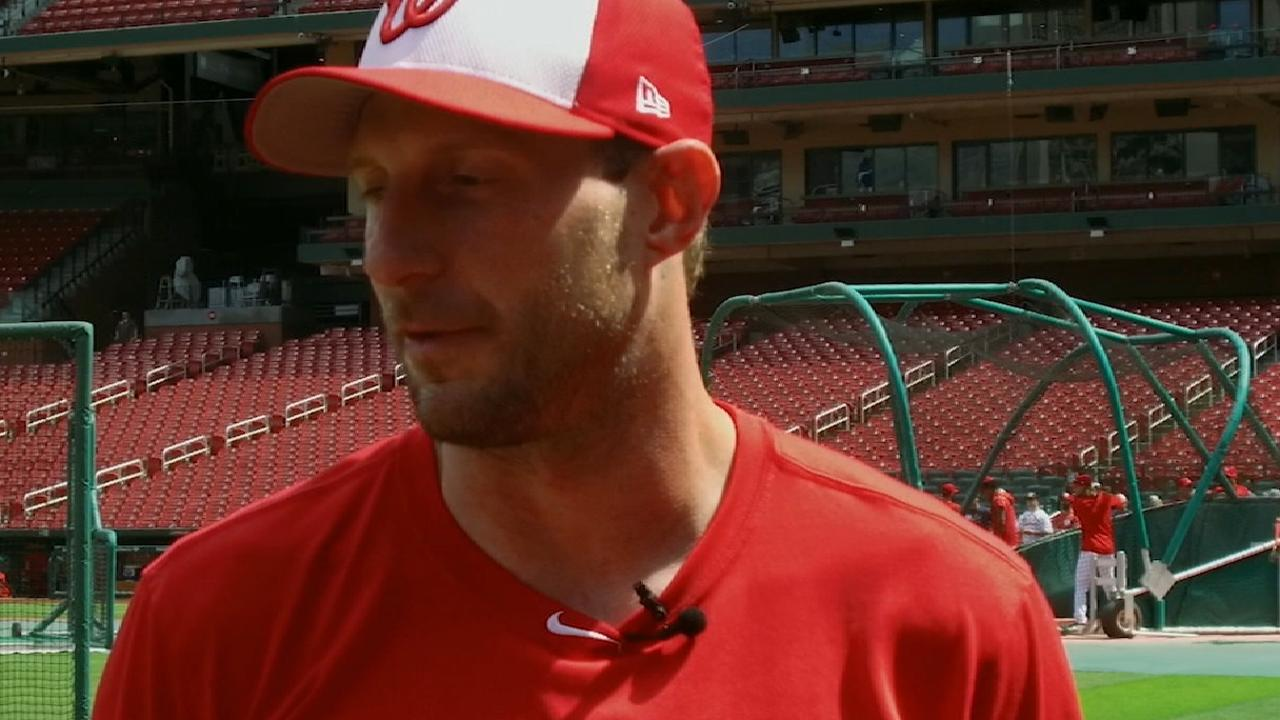 Scherzer talks hometown