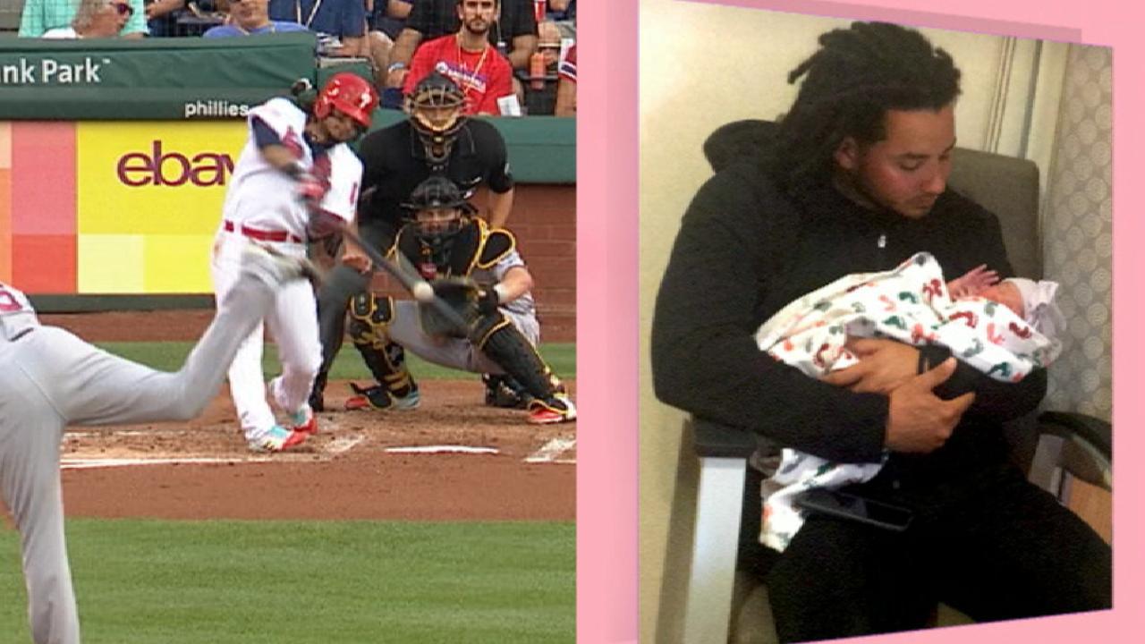 Freddy Galvis vio nacer a su hija y dio jonrón el mismo día