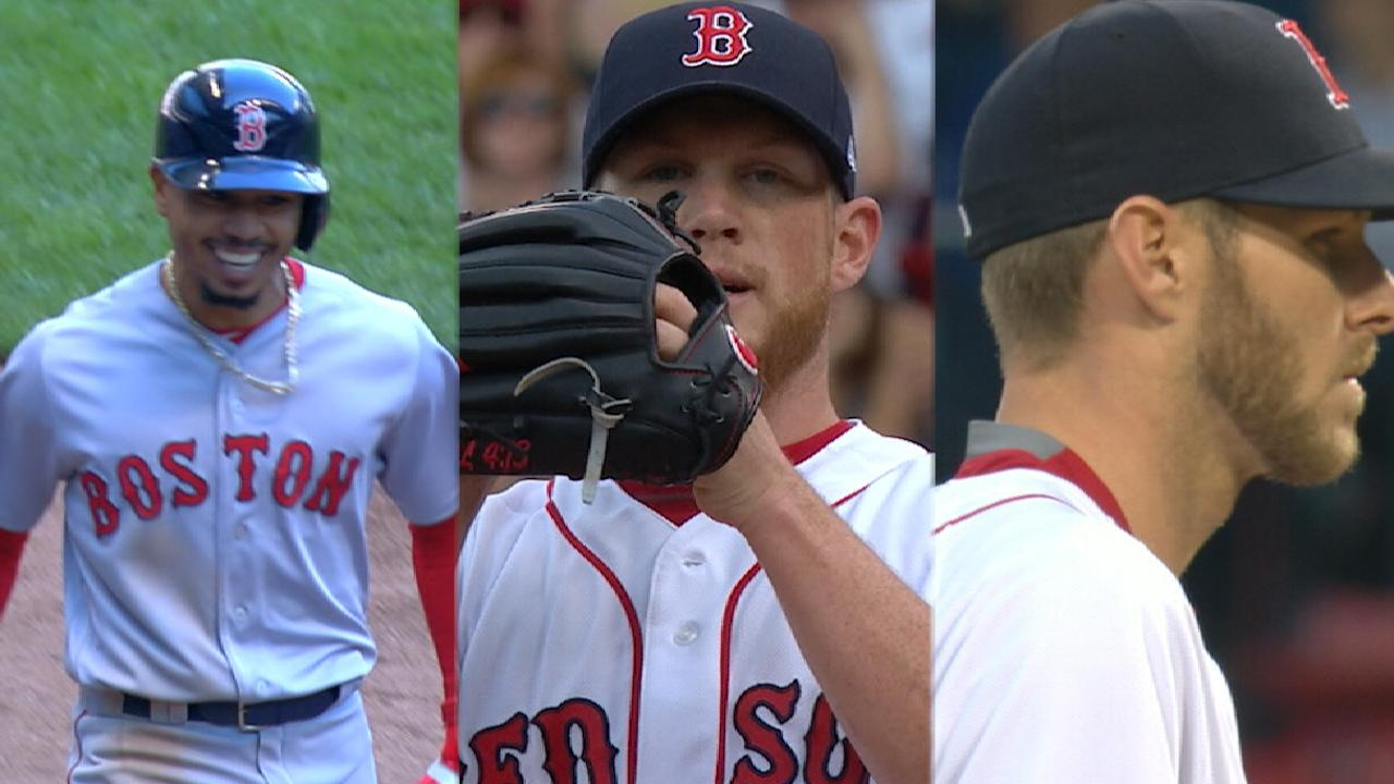 Sale, Kimbrel, Betts set for All-Star Game