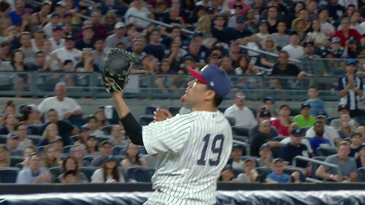 Tanaka's defense finishes 7th