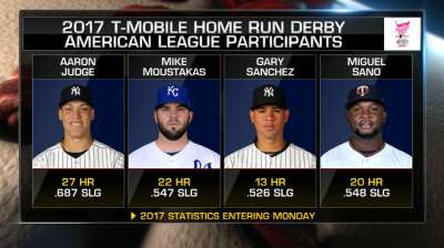 Mike Moustakas in Home Run Derby has Royals fans pumped up
