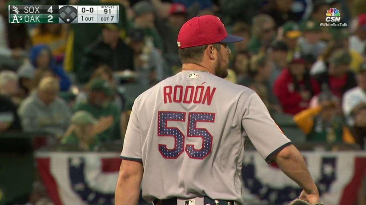 Rodón luce y los White Sox vencen a los Atléticos