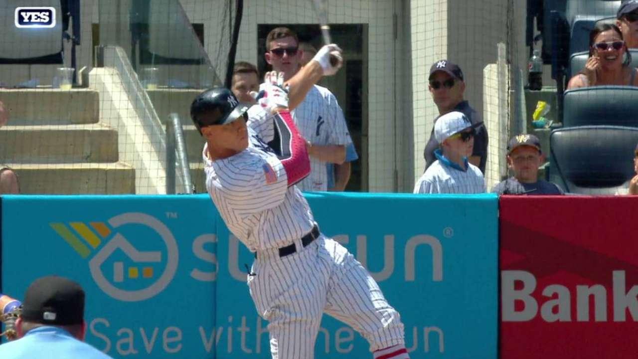 Judge's solo home run