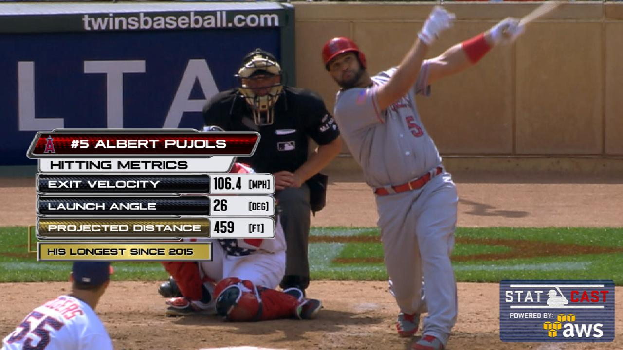 Statcast of the Day: Pujols mashes monster HR