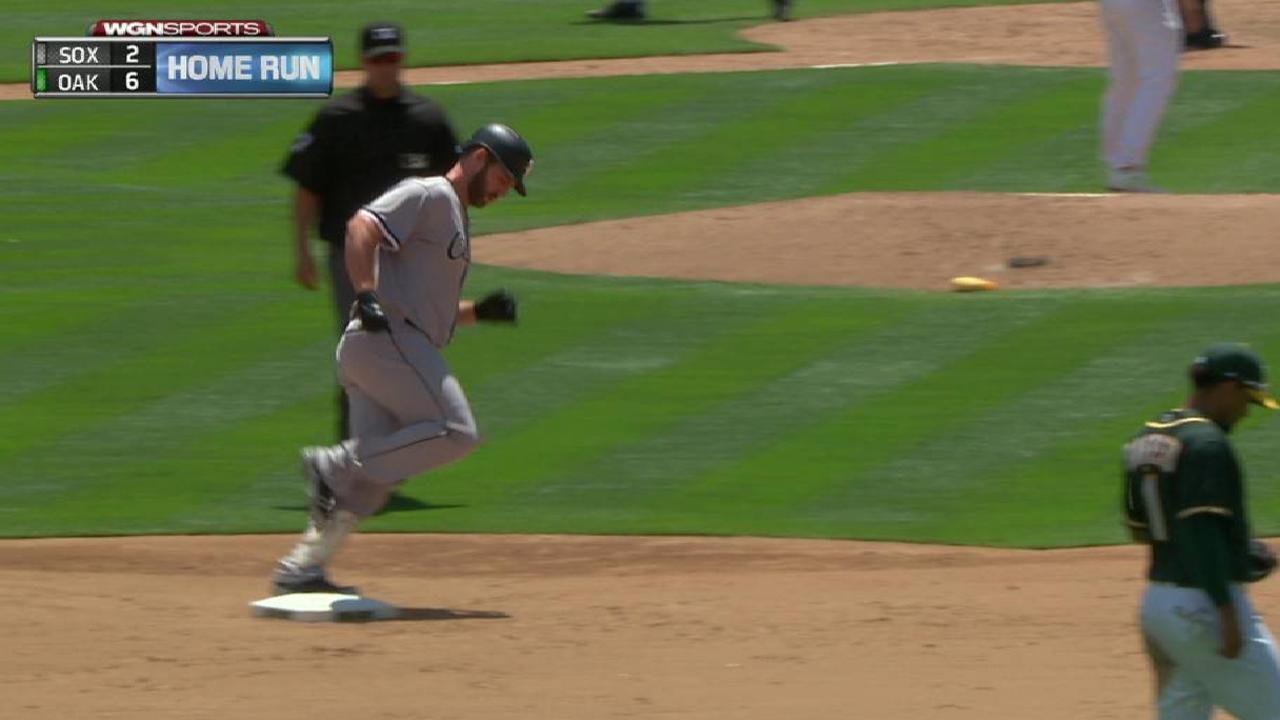 Davidson's two-run home run