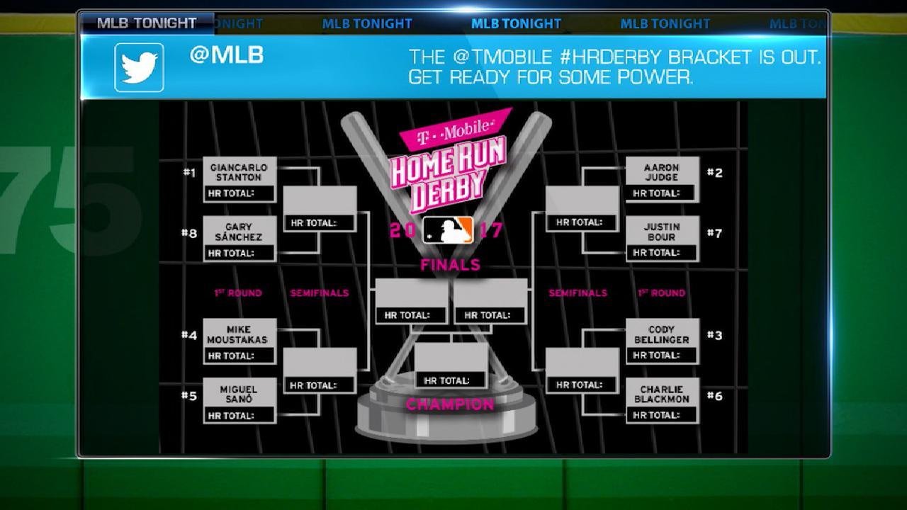 2017 T-Mobile HR Derby Brackets