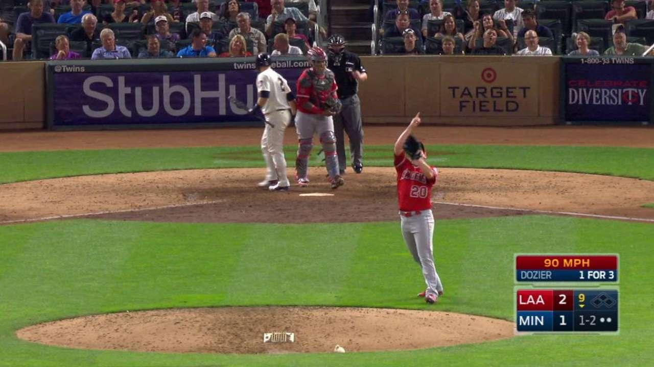 Norris strikes out Dozier