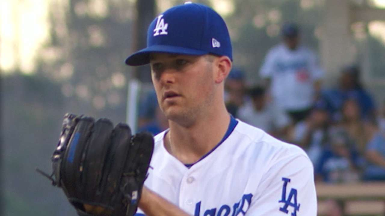 Wood you believe it? Another gem for L.A. lefty