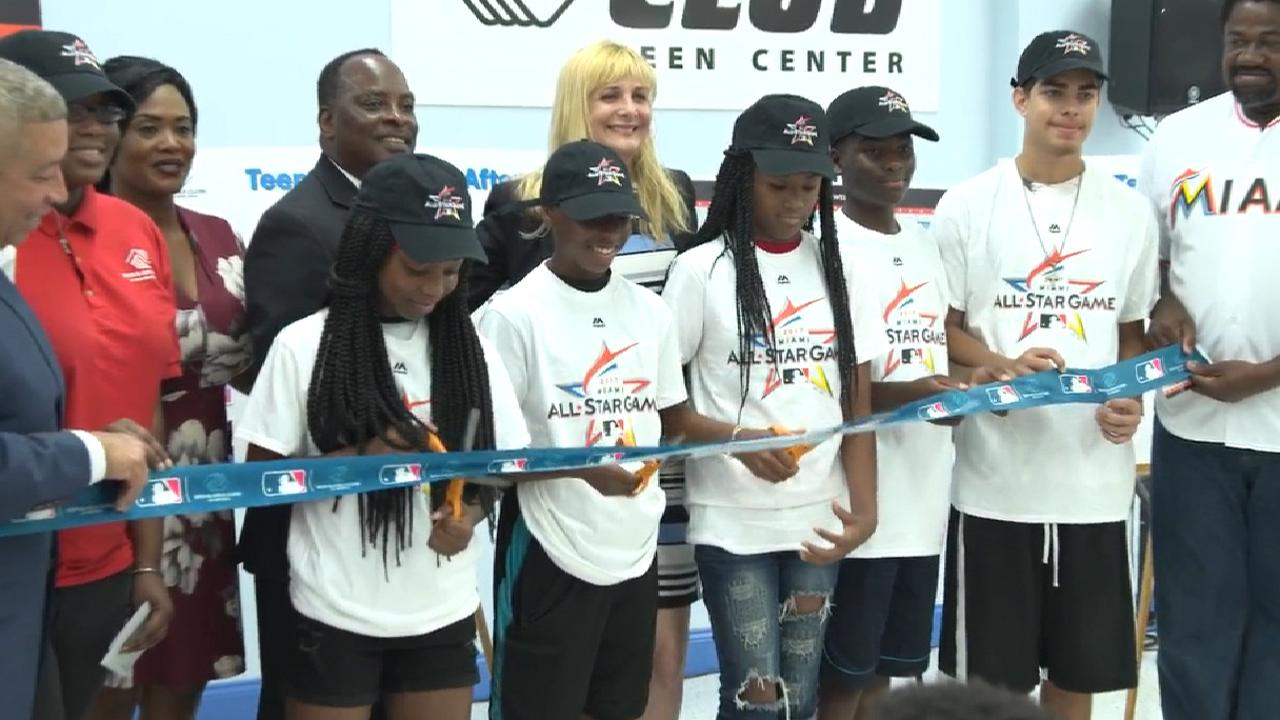 MLB, Marlins help out local Boys & Girls Clubs
