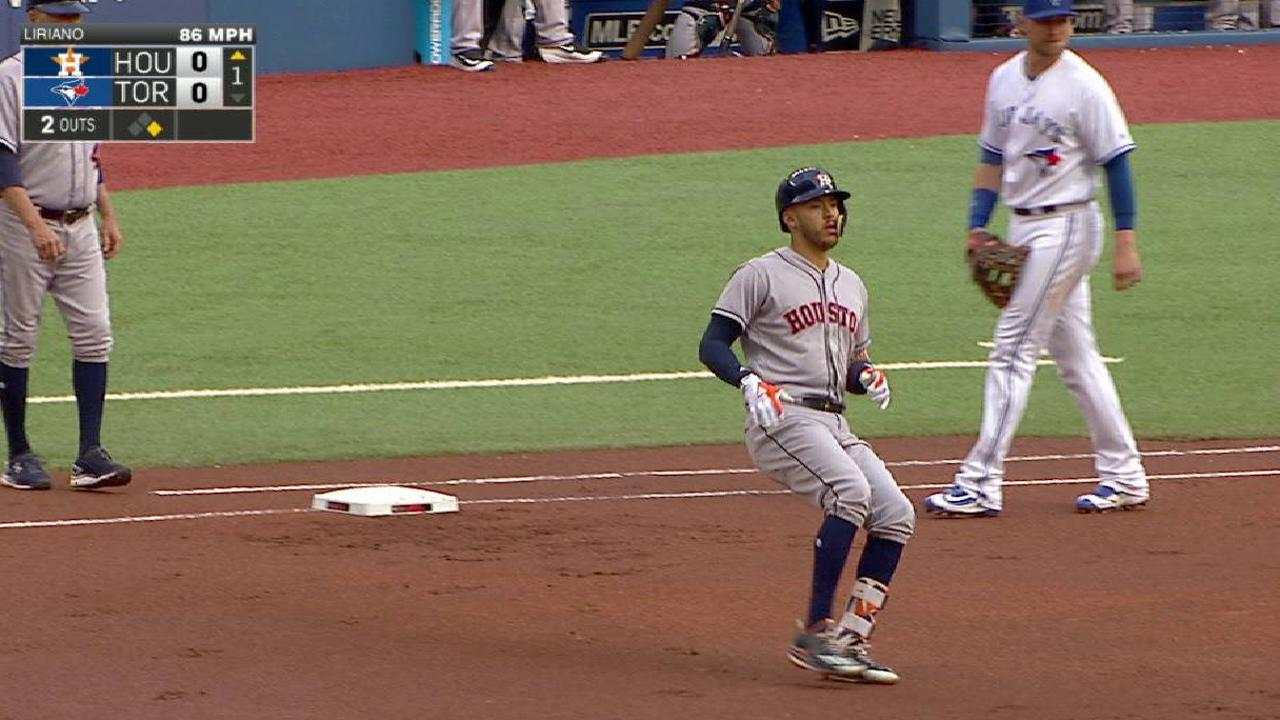 Correa extends hitting streak