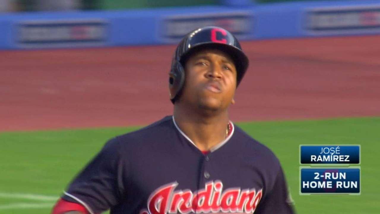 Ramirez's two-run home run