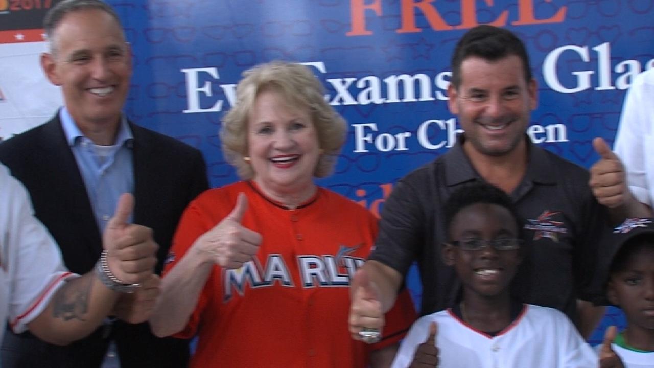 Marlins, MLB partner for children's eye initiative