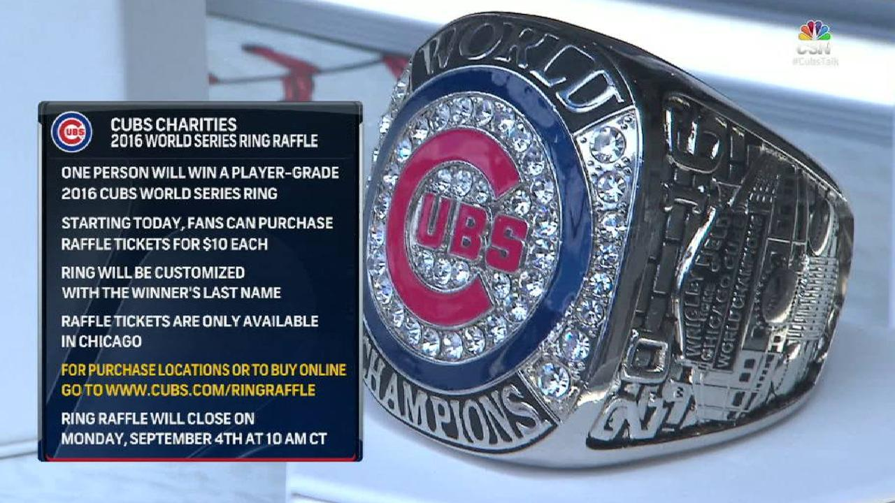 Chicago Cubs World Series Ring Raffle