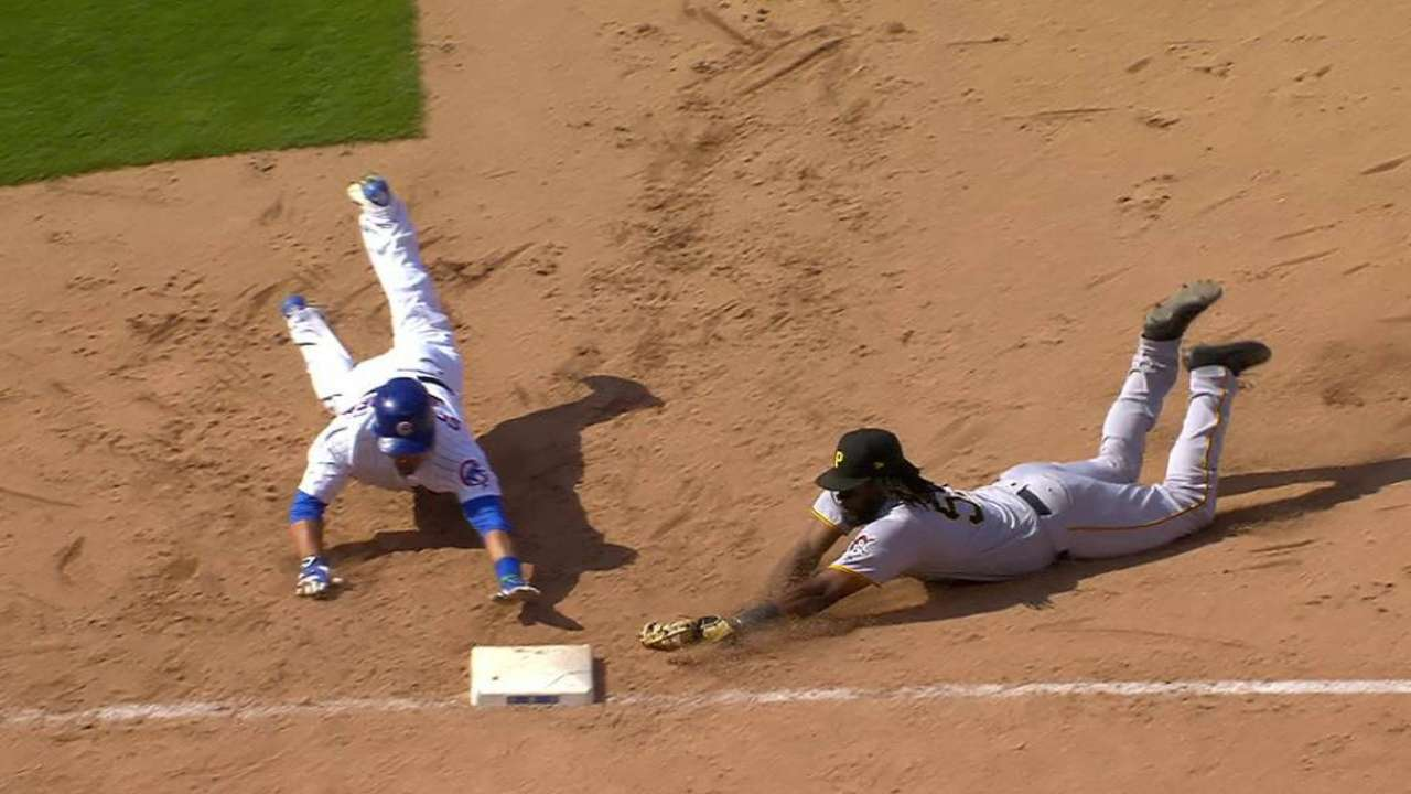 Bell turns double play