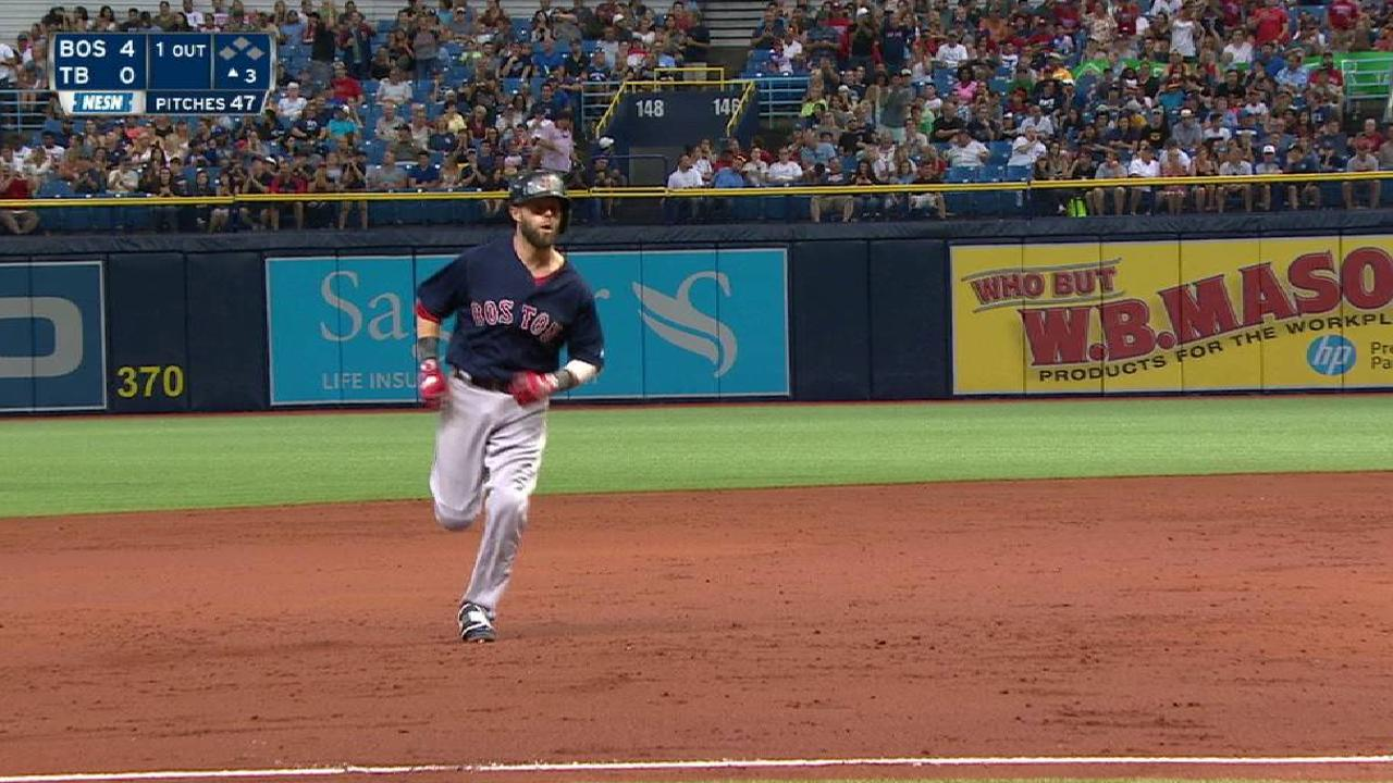 Pedroia's tweaks pay off with end of HR drought