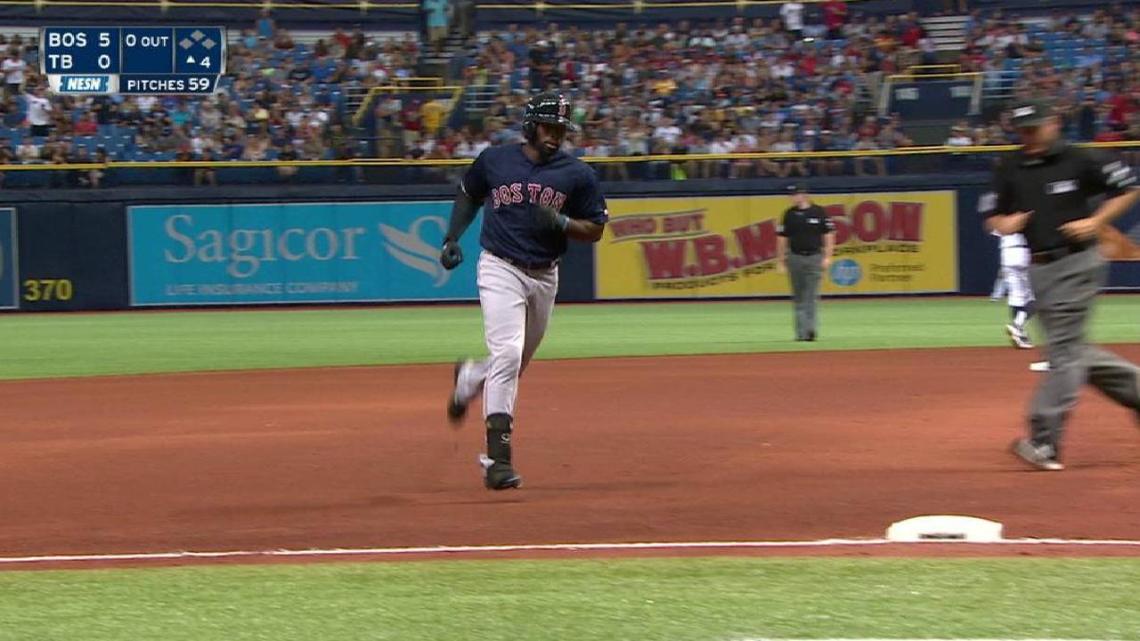 Pomeranz, Red Sox even series vs. Rays