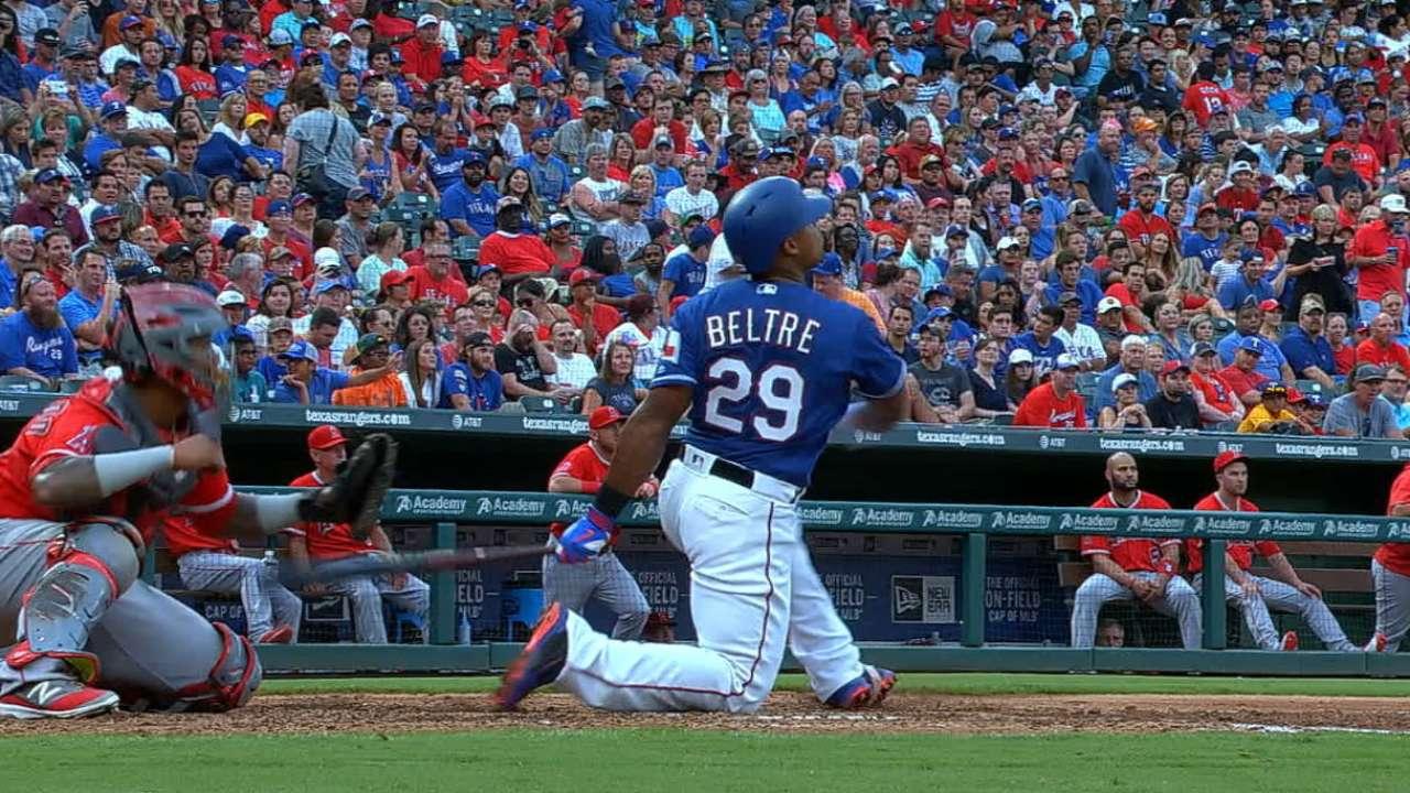 Beltre's three-run dinger
