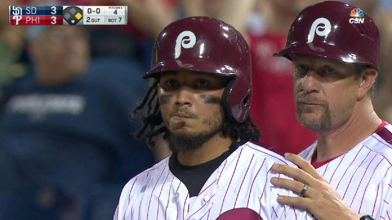 Galvis' game-tying RBI single