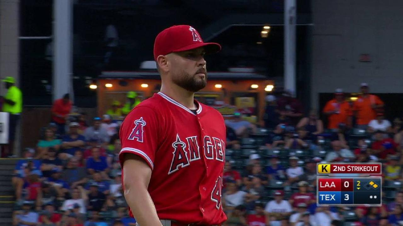 Angels can't overcome Rangers' early surge