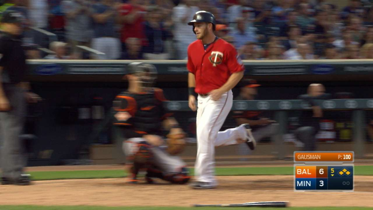 Twins overcome six-run deficit to beat O's