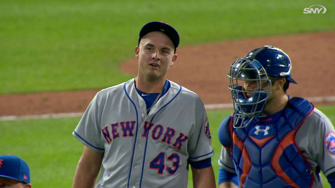 Reed seals the Mets' win