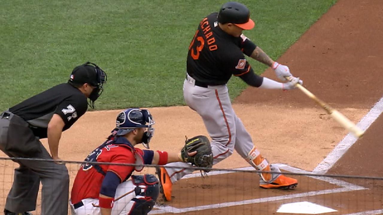 Machado's two-homer game