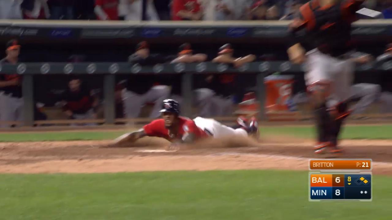 Breaking down Buxton's speed