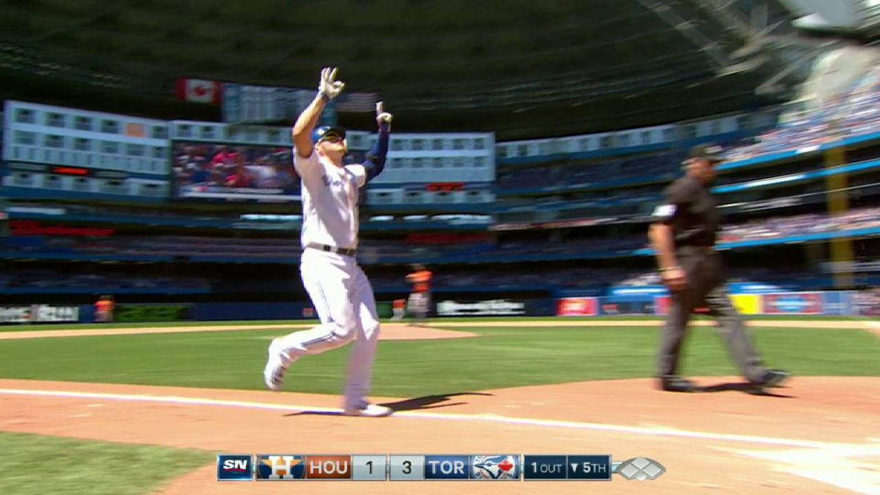 Donaldson's three-run home run