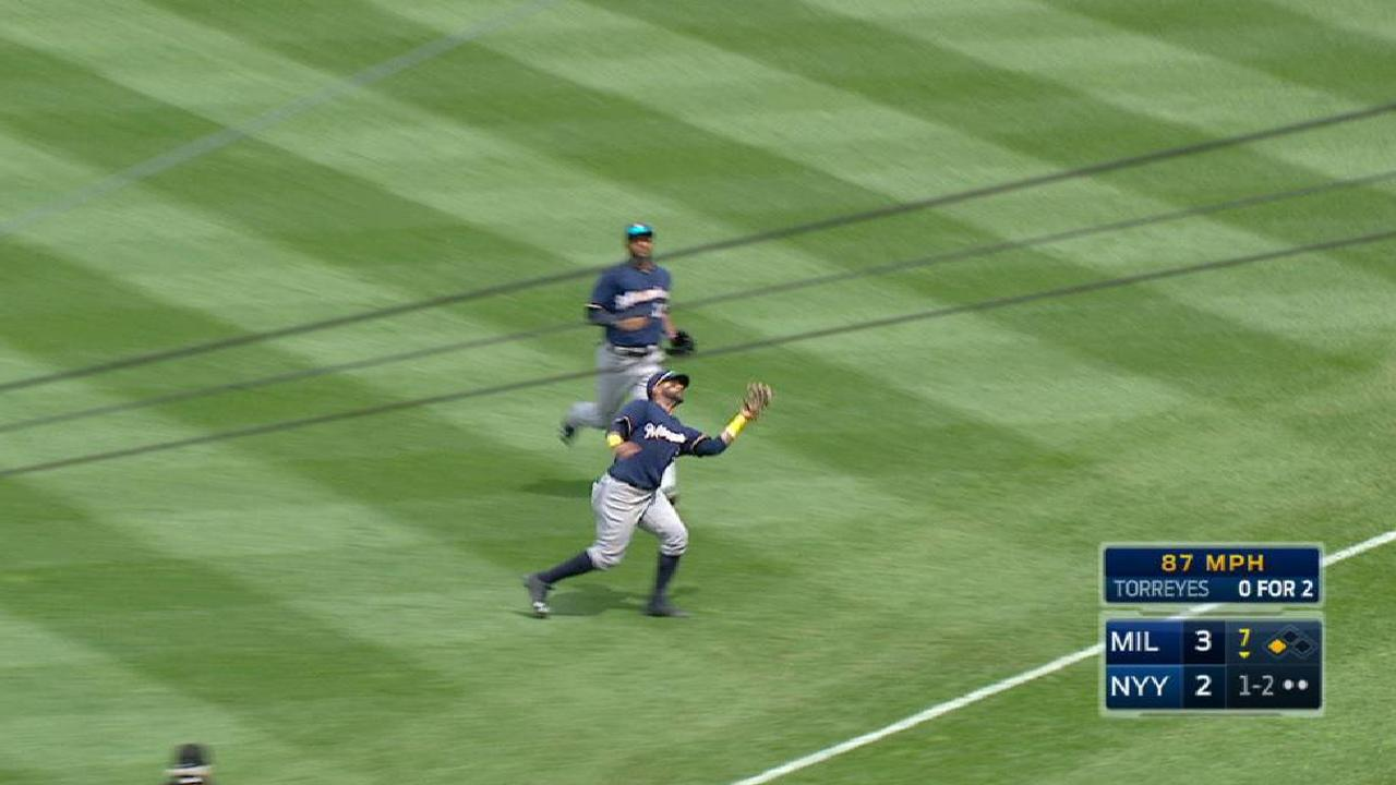 Hughes escapes a jam