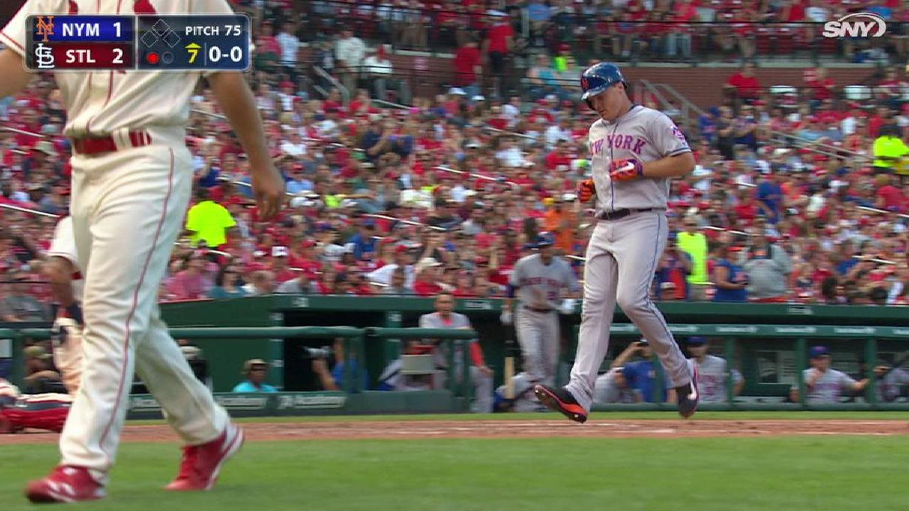 Bruce's HR, solid Wheeler not enough vs. Cards