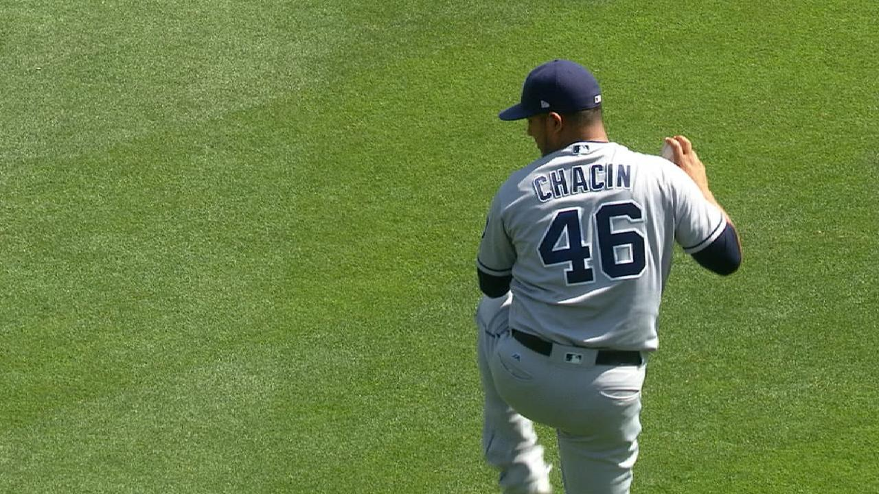 Chacin outduels Nola as Padres beat Phillies