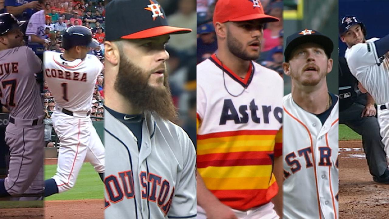 Six Astros in All-Star Game
