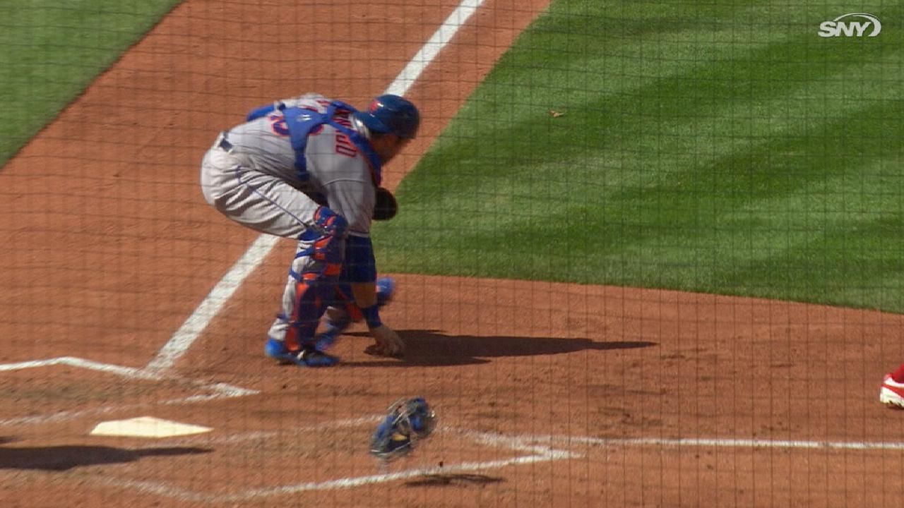 d'Arnaud's day behind the dish