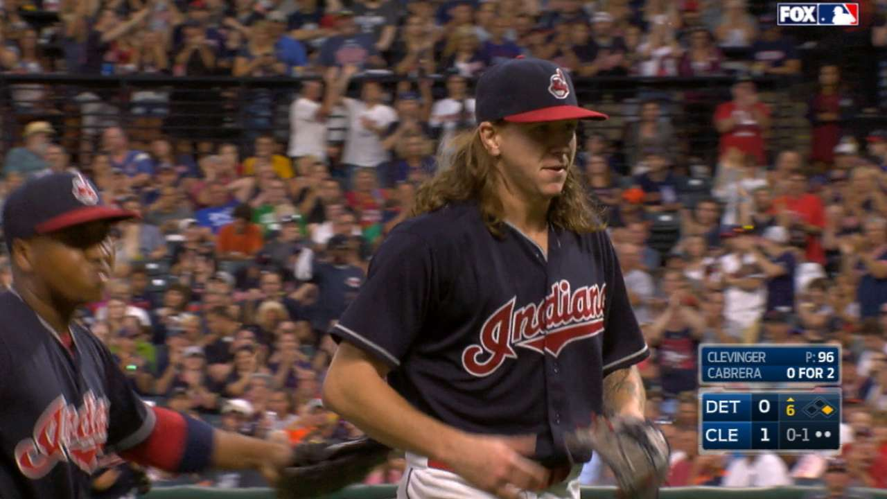 Clevinger bests JV again; Brantley clutch in win