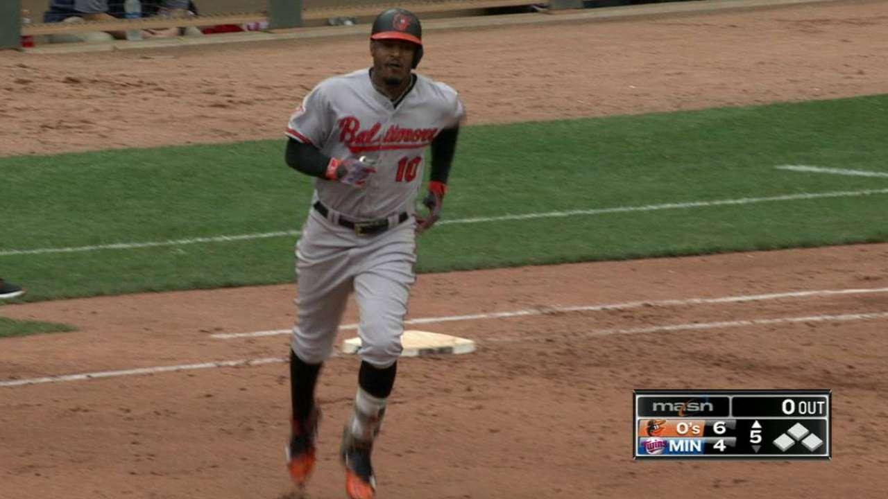 Jones's second homer