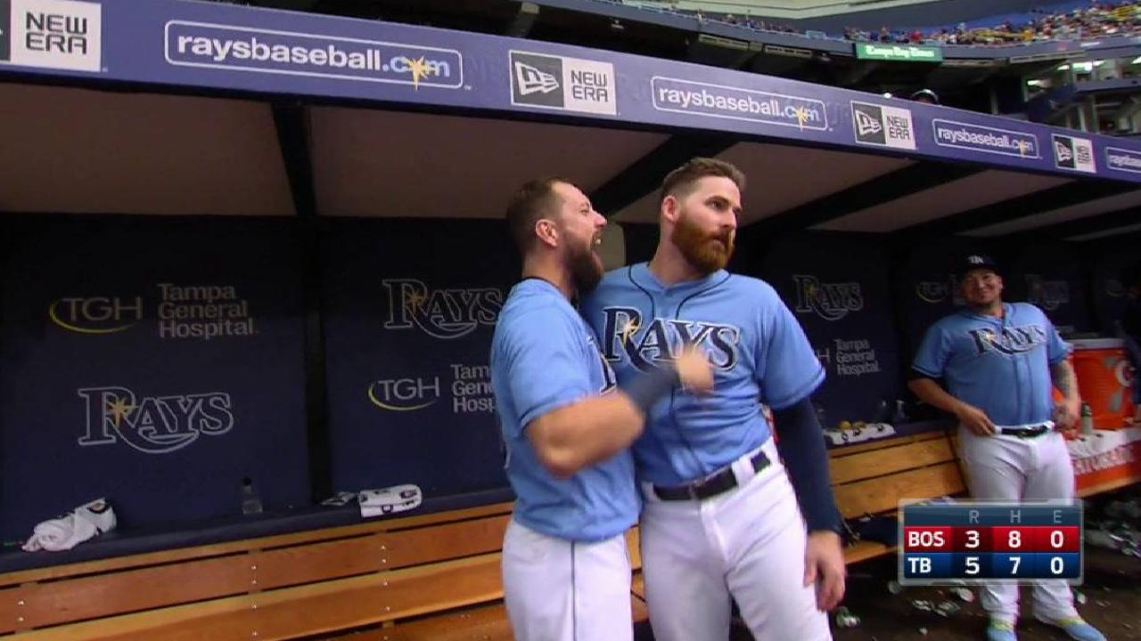 Miller's late HR lifts Rays past Red Sox