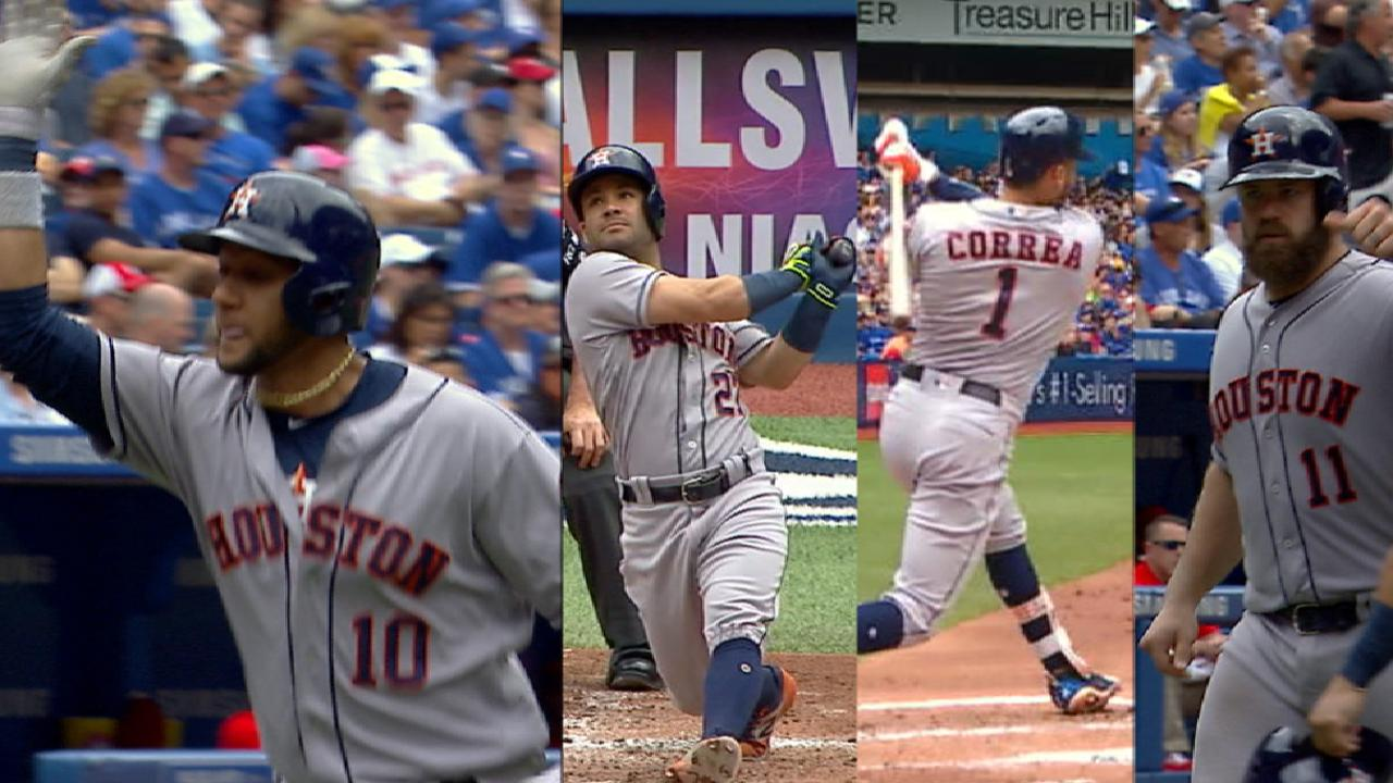 Astros 'in a good place' heading into break