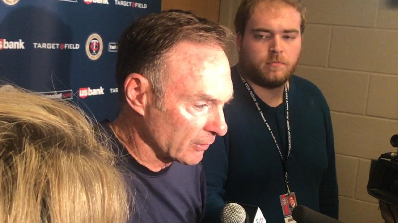 Molitor on 11-5 loss to Orioles
