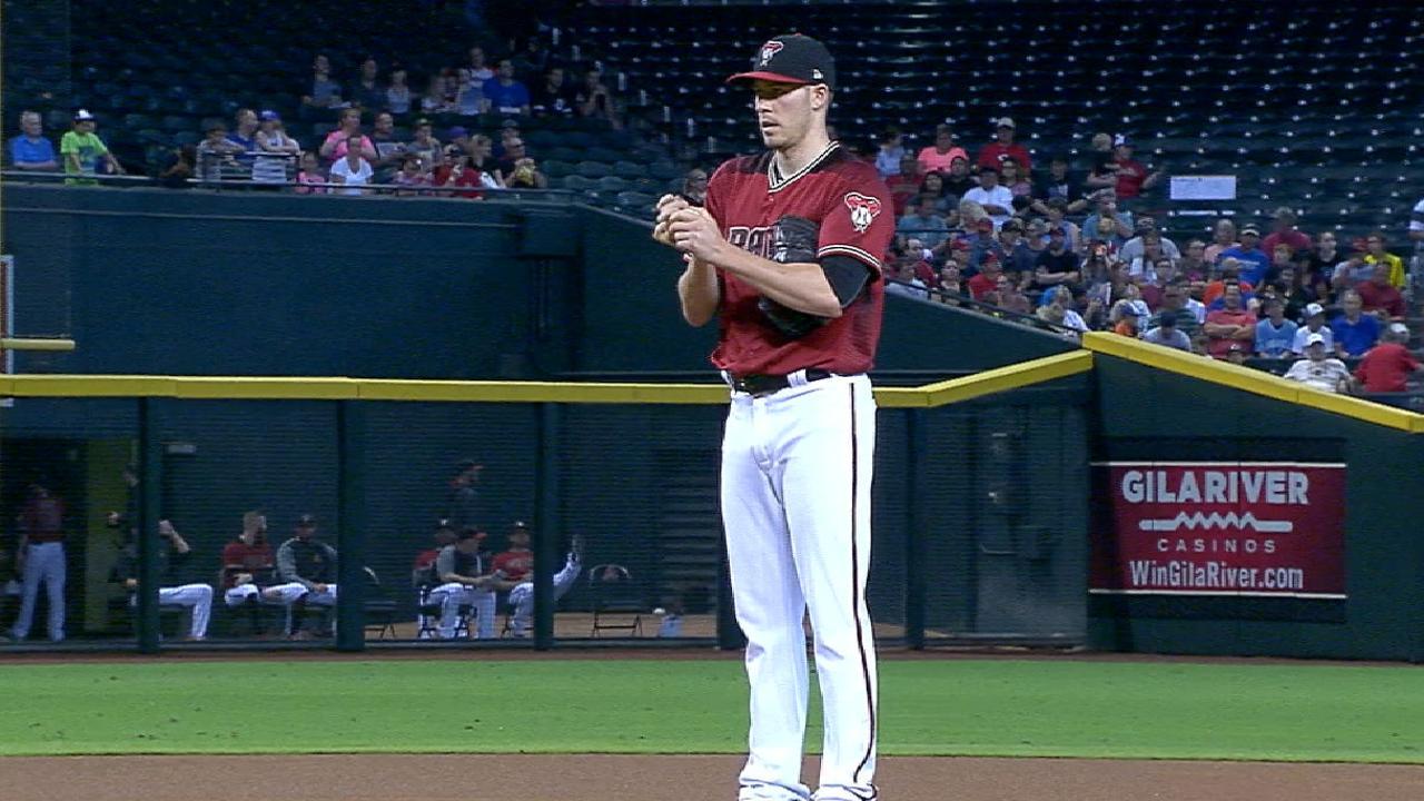 Corbin solid, but D-backs lose pitchers' duel