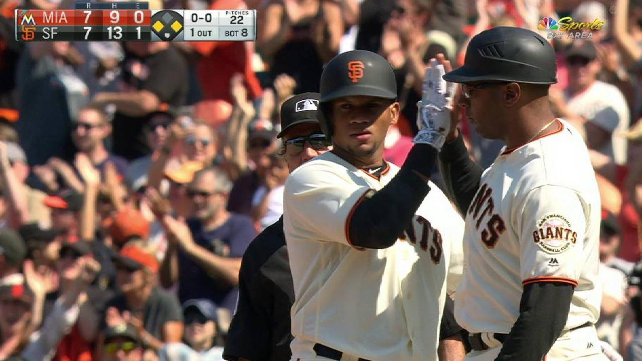 Extra work pays off with Gomez's big first hit