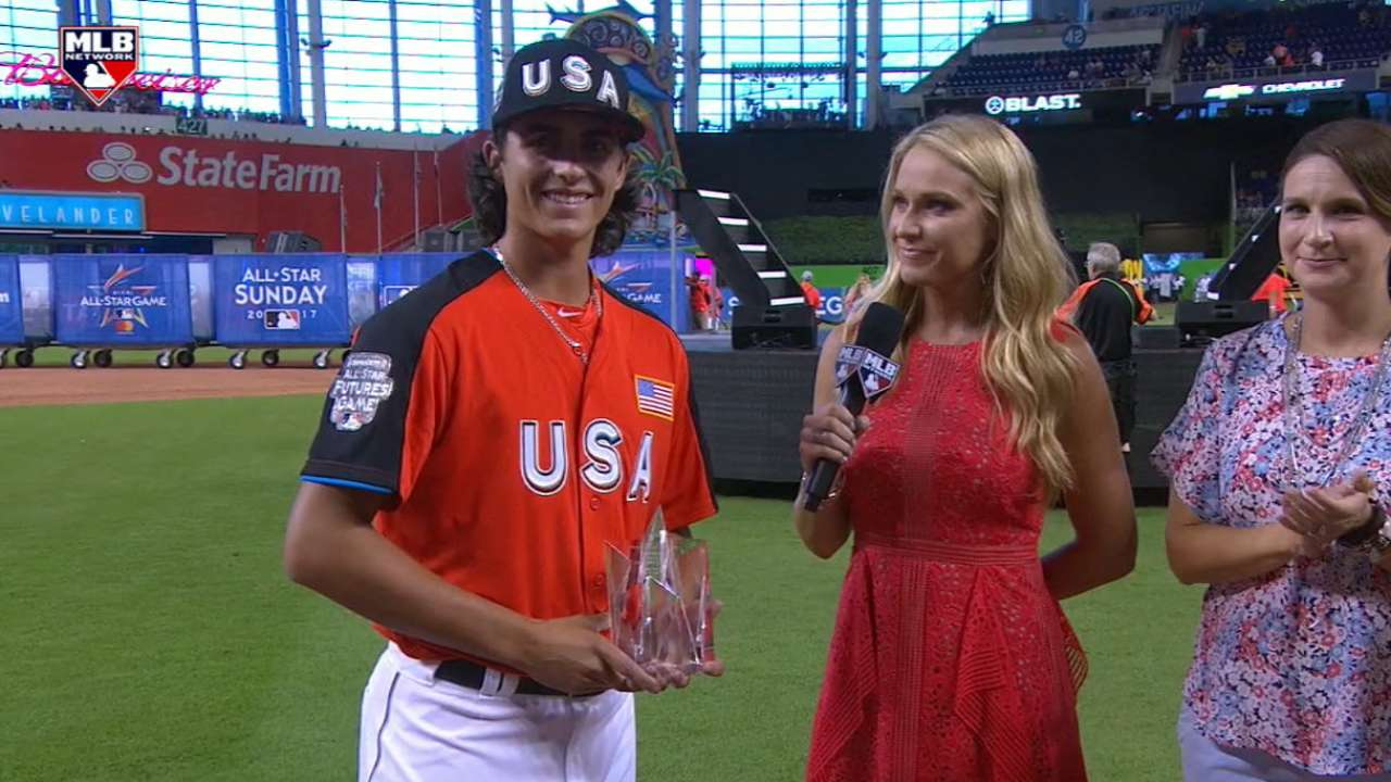 Honeywell wins Futures Game MVP