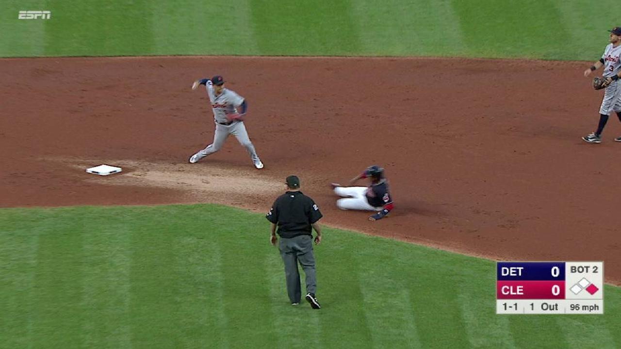 Fulmer induces inning-ending DP