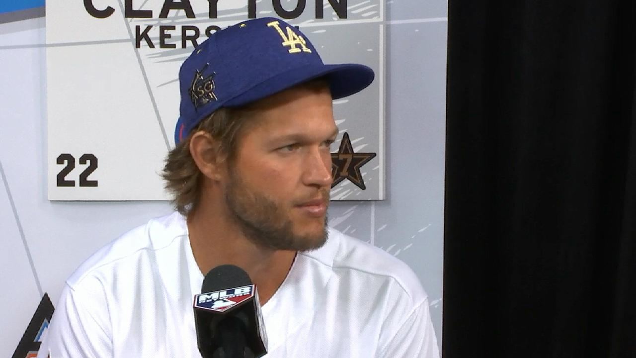 Kershaw honored for seventh ASG