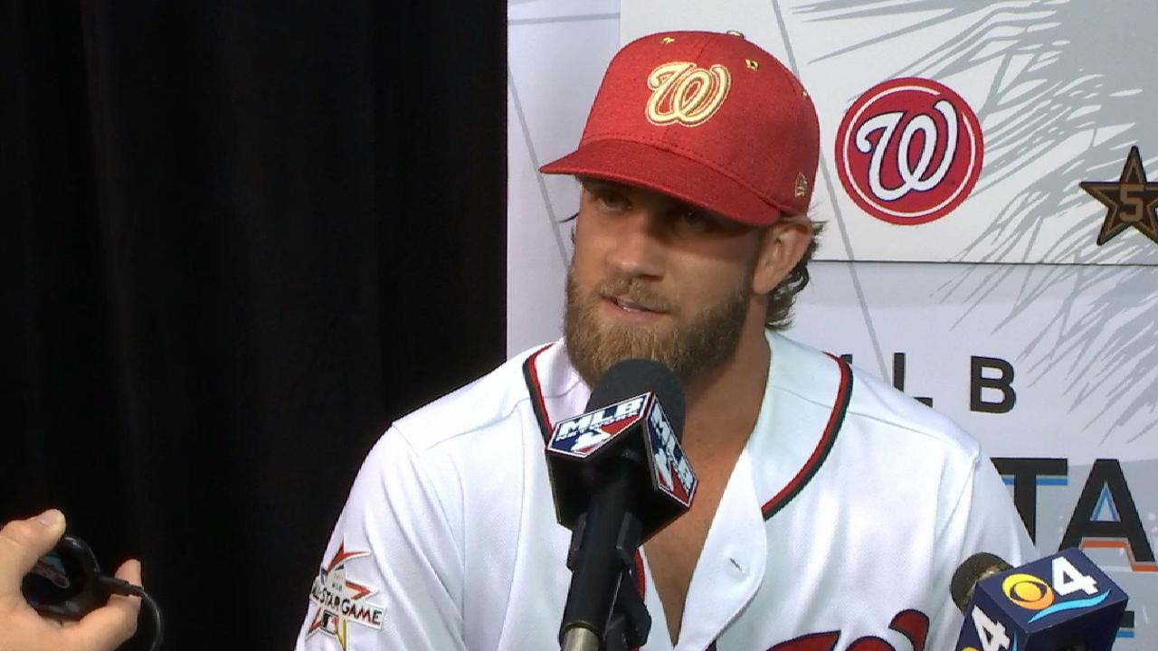 Harper proud of Nats in ASG