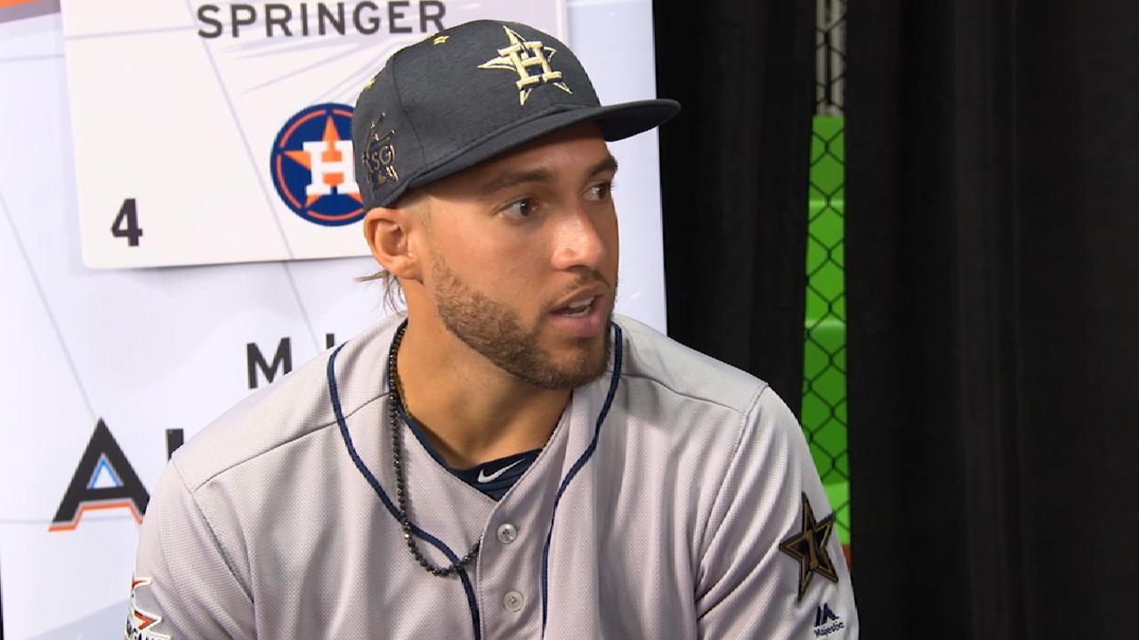 Springer on Astros in ASG