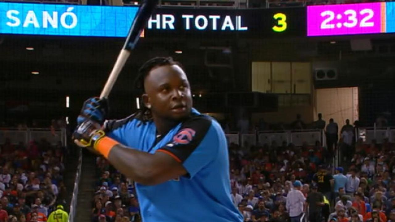 Sano's impressive homer