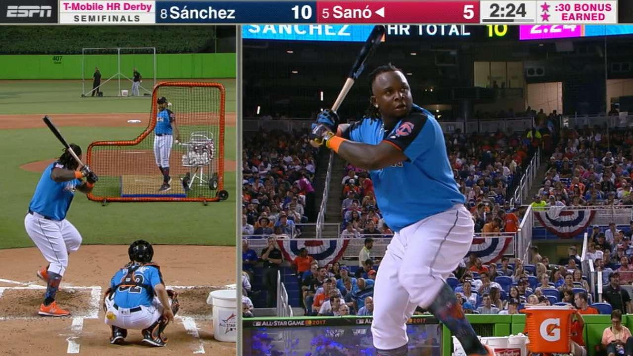 Sano's impressive 491-ft. homer